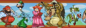 Super Mario Bookmark by BrendanCorris
