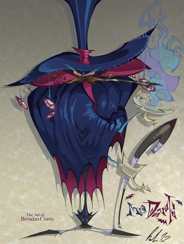 The Eeevil Mr. Dark by BrendanCorris