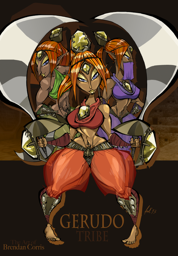 Other Gerudo Members on The-Gerudo-Tribe - DeviantArt