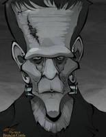 Frankenstein by BrendanCorris
