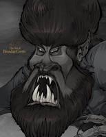 The Wolf Man by BrendanCorris