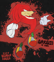 Knuckles the Echidna by BrendanCorris