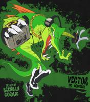 Vector the Crocodile by BrendanCorris