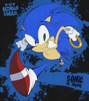 Sonic the Hedgehog by BrendanCorris
