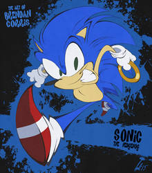 Sonic the Hedgehog by BrendanCorris