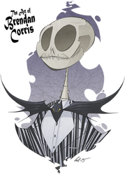 Jack Skellington the Pumpkin King by BrendanCorris