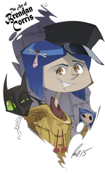 Coraline Jones by BrendanCorris