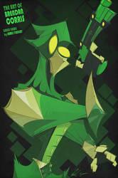 Green Hawk Commission by BrendanCorris