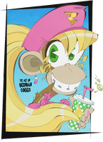 Favorite Nintendo Girls - Dixie Kong by BrendanCorris