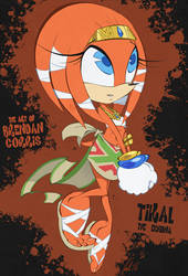 Tikal the Echidna by BrendanCorris