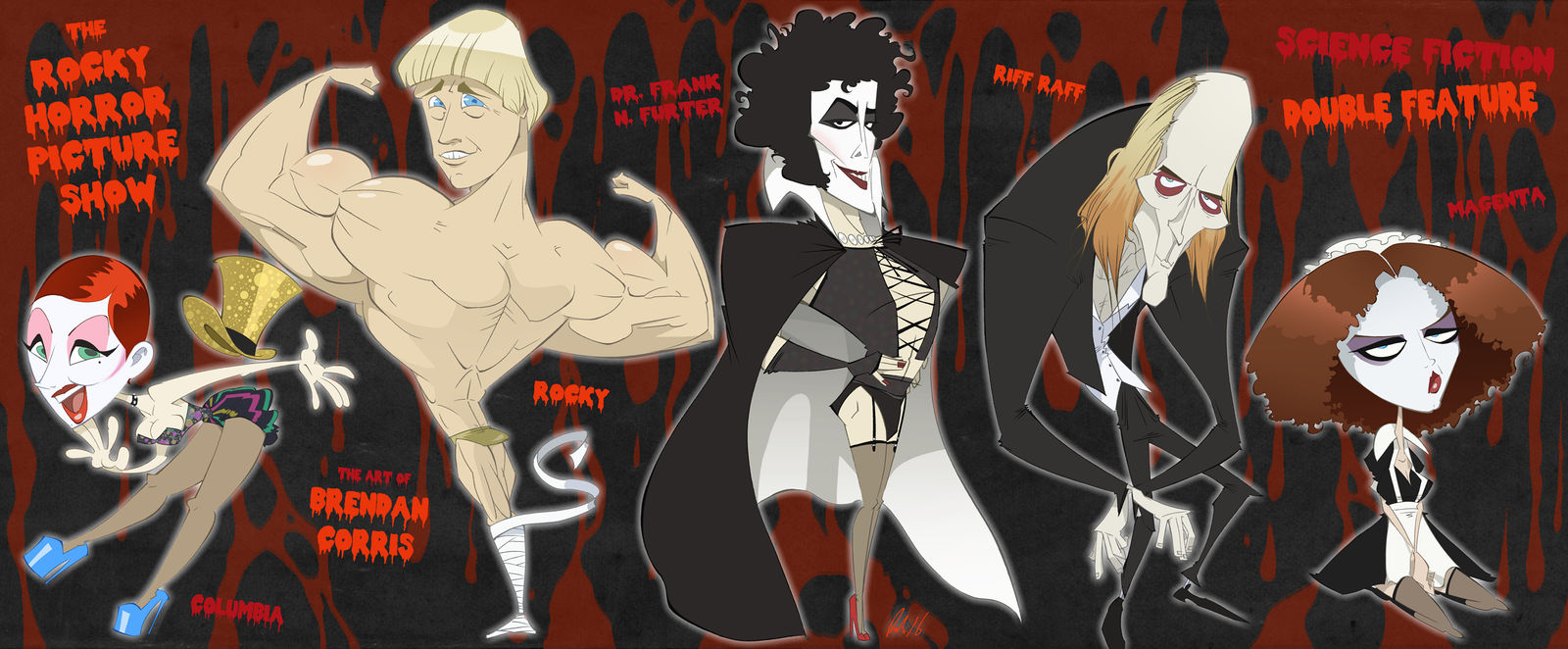 The Rocky Horror Picture Show by BrendanCorris