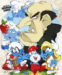 The Smurfs by BrendanCorris