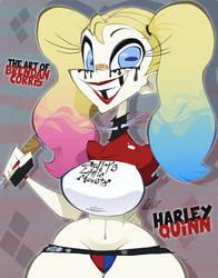 Harley Quinn by BrendanCorris