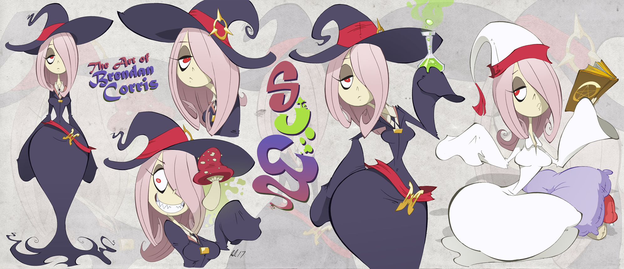 Sucy Sheet by BrendanCorris