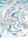 Bluefrost Chimera by ShadowSaber