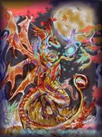 Harvest Wise dragon of Autumn