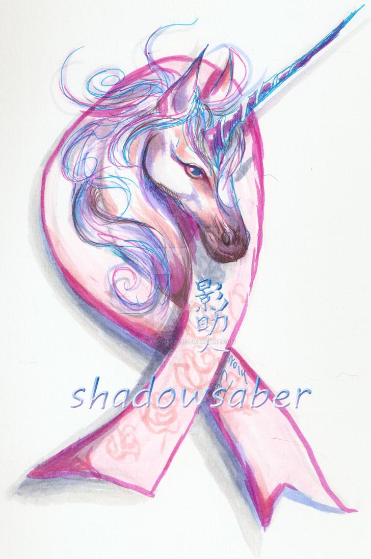 Pink Robbin Unicorn by ShadowSaber