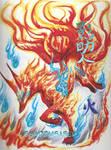 Flame Kitsune bi