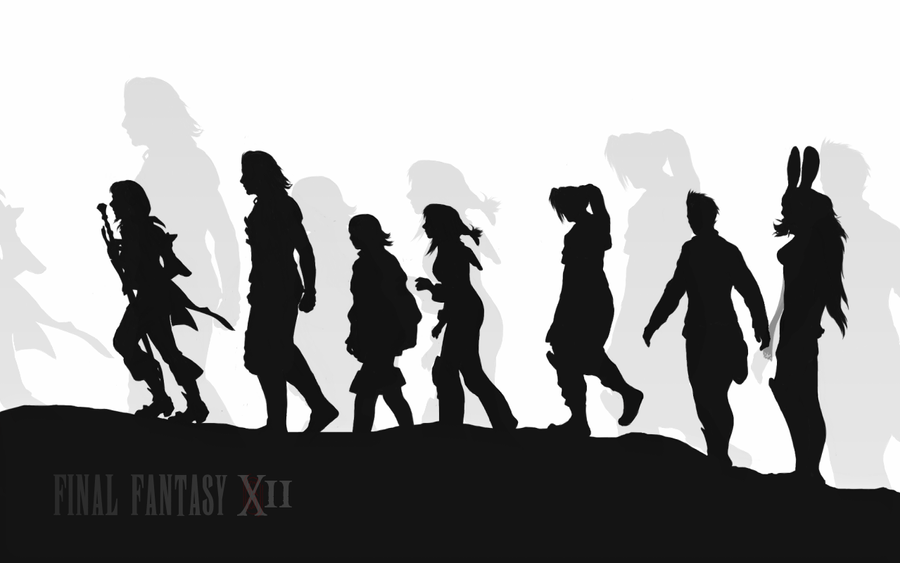 CAMISETAS PERSONALIZADAS CON LEJÍA FFXII_silhouette_wallpaper_by_Firnheledien