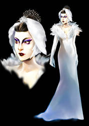 Sorceress Dressphere redux by Firnheledien