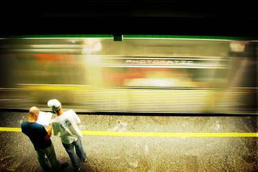 Subway LOMO by pirulacidos