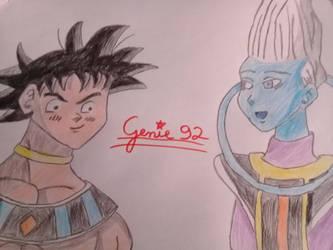 Goku, the new GoD of Universe 7 by Genie92