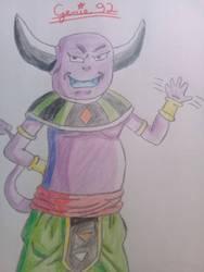 Mule, GoD of Universe 3 by Genie92
