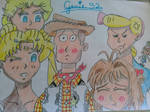 Woody's many girls by Genie92