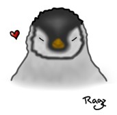 Penguin - A gift to Chelley by JustRagz