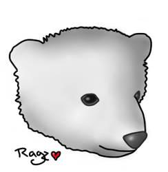 Polar Bear by JustRagz