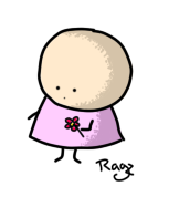 A random girl by JustRagz