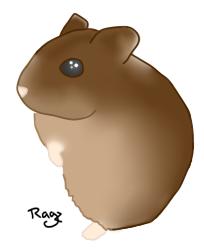 Yasmin Baby the Hamster by JustRagz