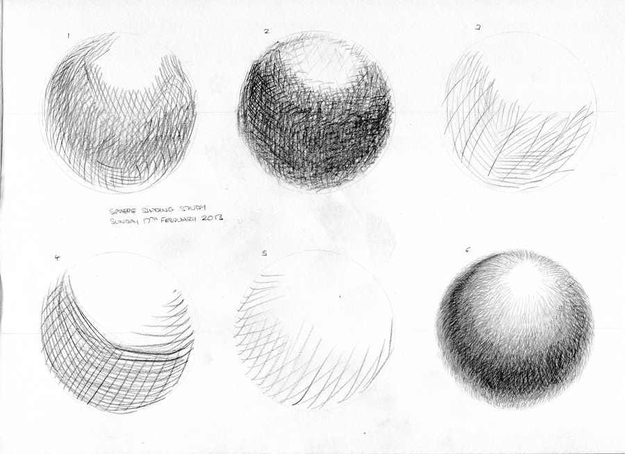 Line Drawing No Shading : Shading practice crosshatching spheres by summitwulf