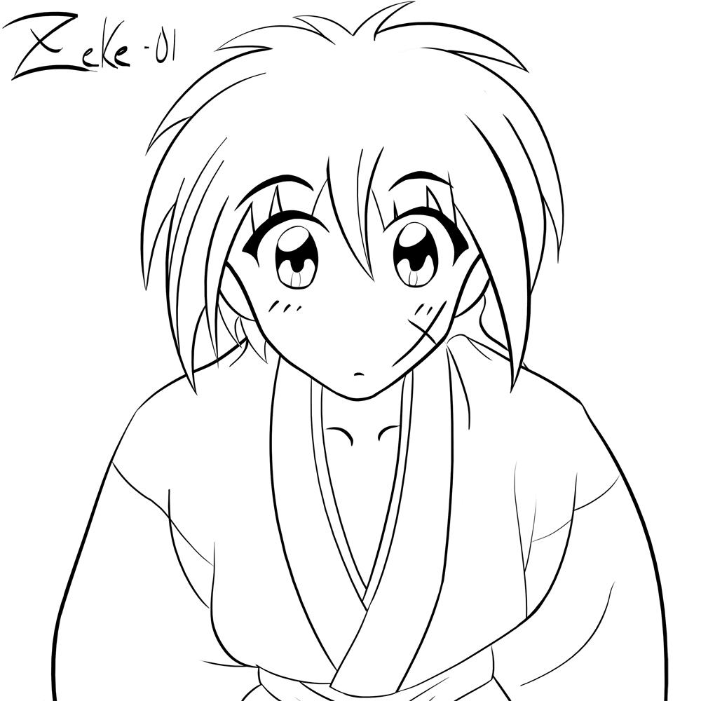 Himura Kenshin By Zeke-01 On DeviantArt