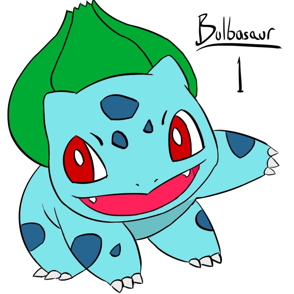 1 Bulbasaur color by Zeke-01 on DeviantArt