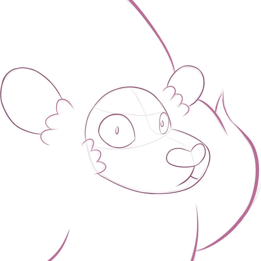 Lion Sketch 3 by Zeke-01