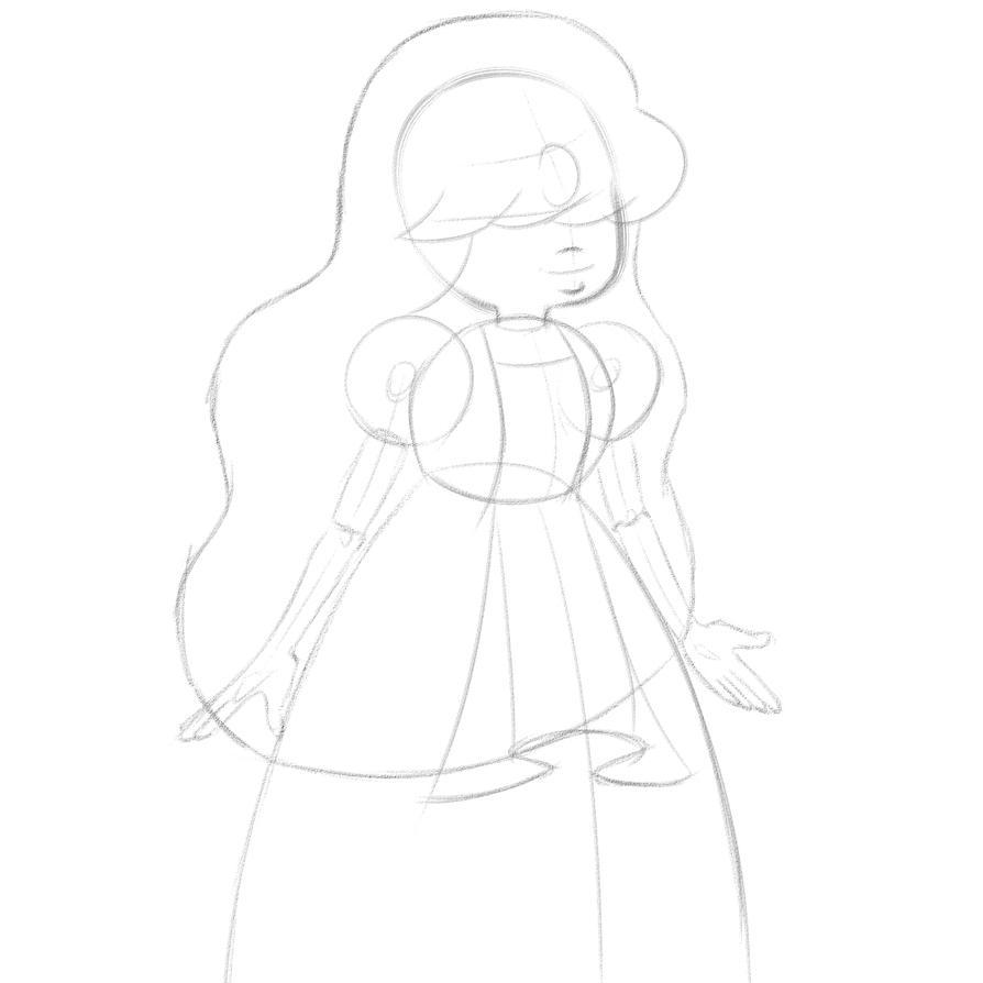 Sapphire sketch 1 by Zeke-01