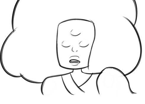 Cotton Candy Garnet sketch1