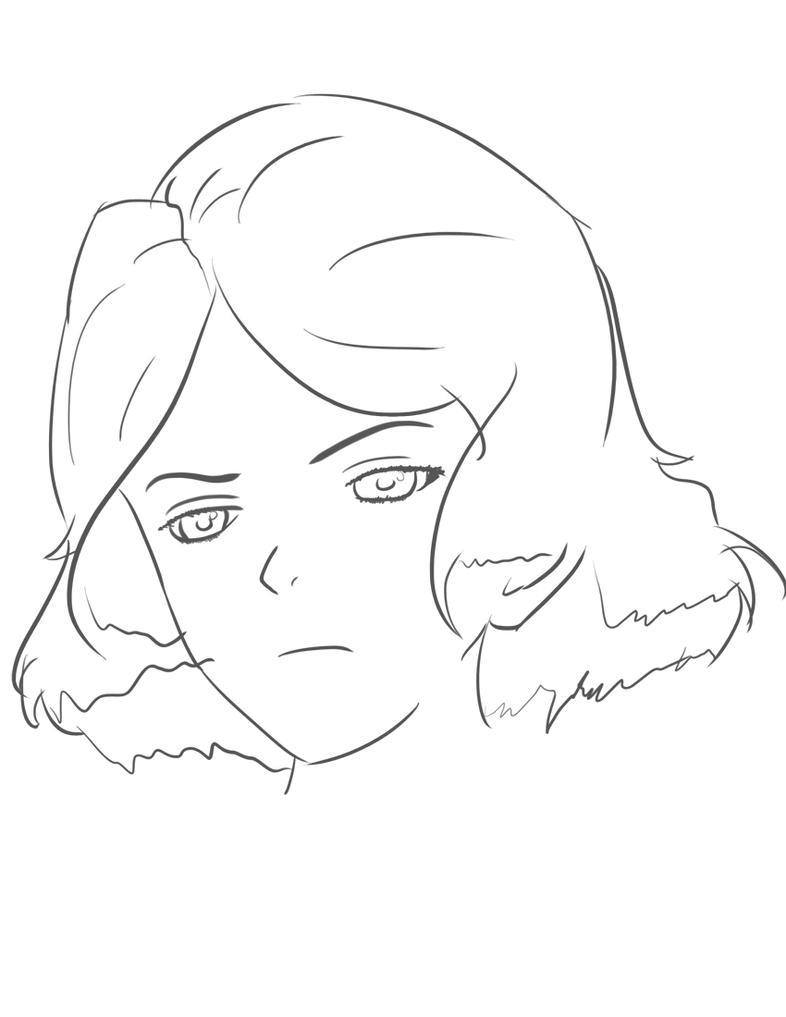 Yukina sketch 1 by Zeke-01