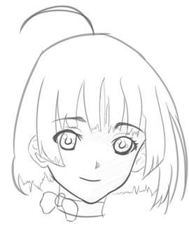 Mumei sketch 1