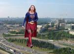 Massive Supergirl.