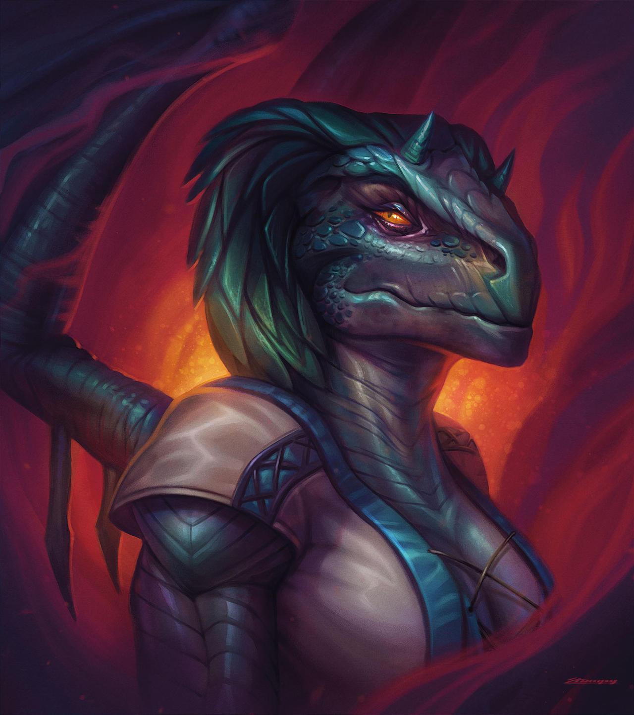 Dragonborne Portrait