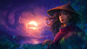 Raya and the Last Dragon Fanart