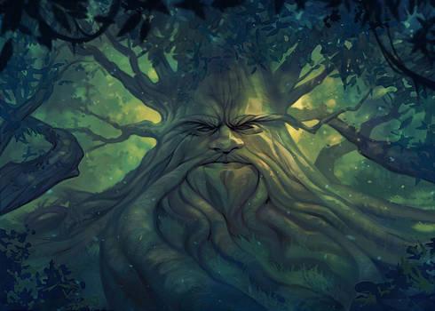 Stumpy Lost Woods Background