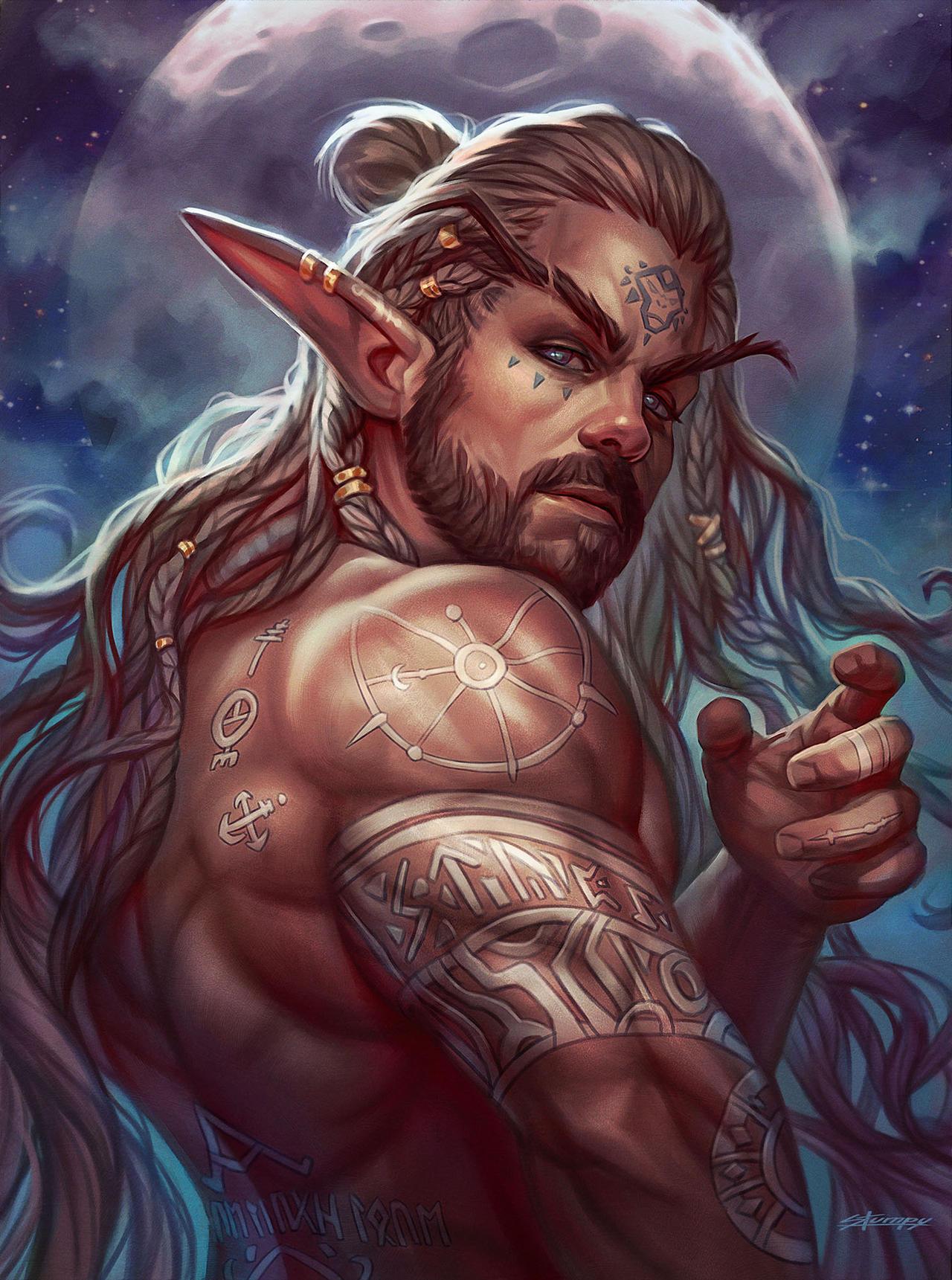 Moonlit Elf | #ElfMyself #SylessaeDTIYS