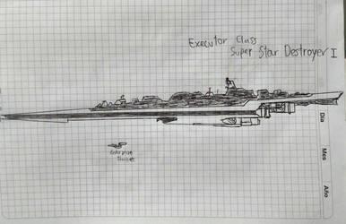 Executor I Class Super Star Destroyer