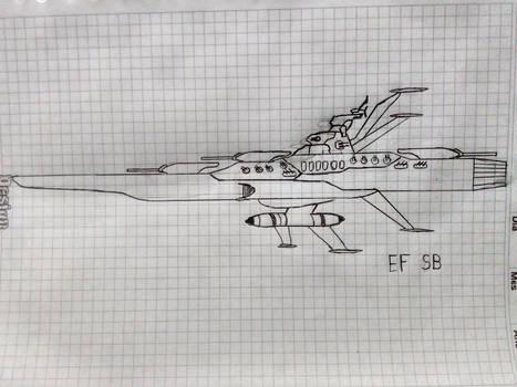 Earth Federation Space Battleship (Standard)