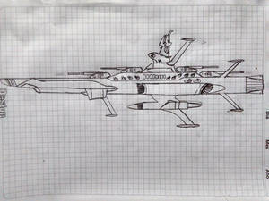 Earth Federation Andromeda Class Space Battleship