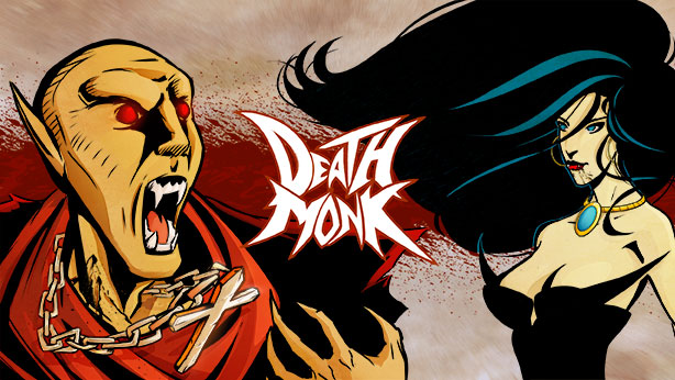 Death Monk Banner Color by mcaraballo