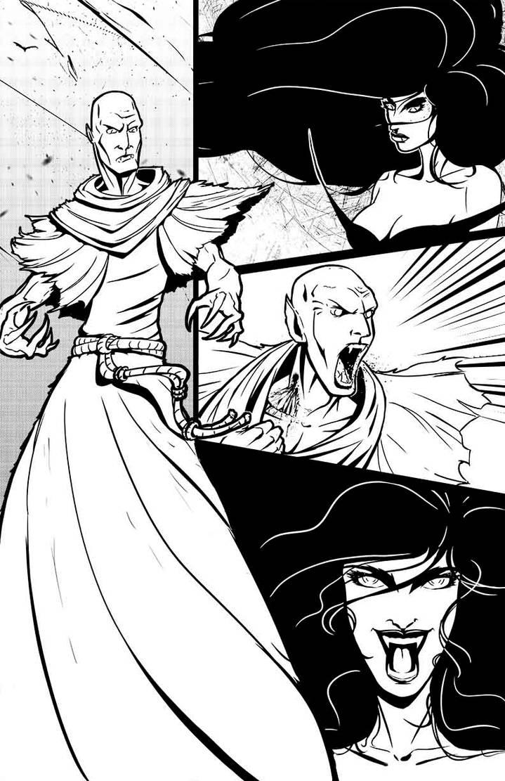 Death Monk Final Ink Page 25
